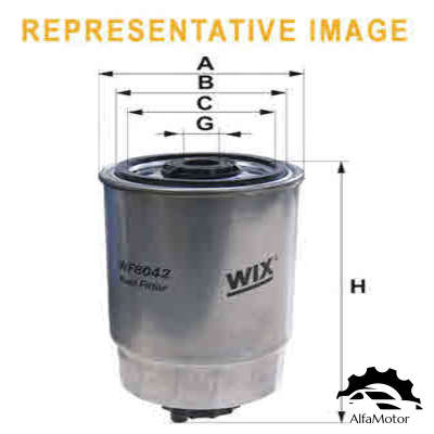 WF8068 WIX FILTERS фильтр топливный Hyundai Accent/Matrix 1.5CRDi 01>
