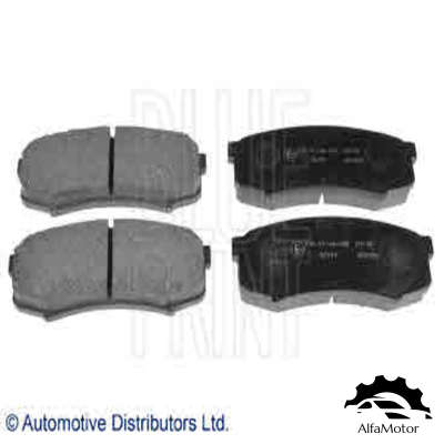 ADT34280 BLUE PRINT колодки дисковые з.\ Toyota Land Cruiser 4.2D 90>