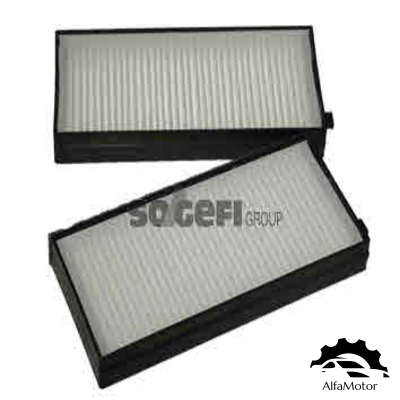PC8303-2 COOPERSFIAAM FILTERS Фильтр салона KIA RIO 00-05 (упак.2шт.)