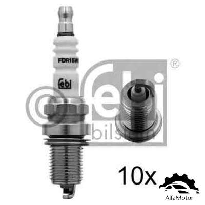 13432 FEBI BILSTEIN Свеча зажигания Honda Civic 1.4i-1.6 97>/CR-V 2.0 97>, Mazda 626/Xedox9 2.5 94>